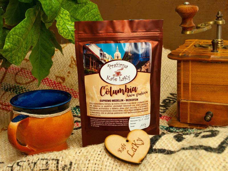 Columbia Supremo Medellin Decaffeinated